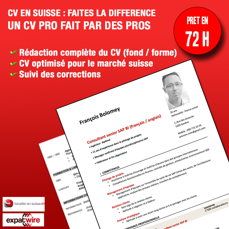 Service de rédaction de CV